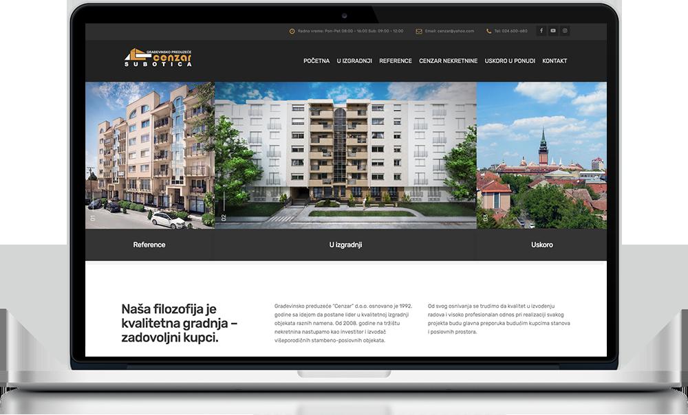 Izrada web sajtova Subotica