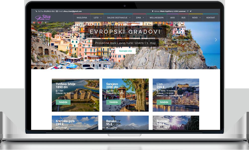 Izrada web sajtova Novi Sad
